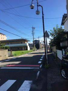 名古屋の方へ向かい歩きます